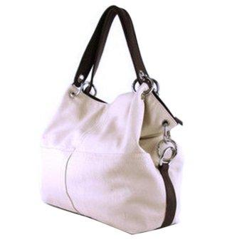 2015 HOT Item Women Handbag PU Leather bags women bag(white) - intl