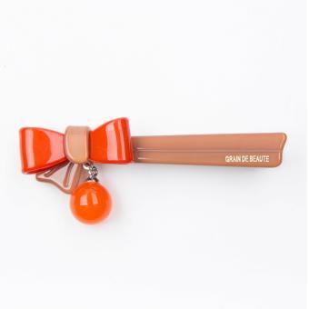 Kẹp tóc Aznavous Graine De Beaute phong cách Hàn Quốc cam