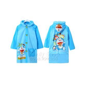 Áo mưa hình nhân vật Doraemon dành cho trẻ em và các bé nhiều size AMDOHJ1402-S