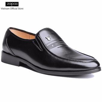 Giày tây Zapas công sở kiểu xỏ - GT017 (Đen)