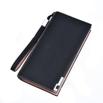 Women Zipper Leather Card Cash Receipt Holder Organizer Bifold Wallet - intl