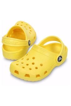 Xăng Đan Bé Trai Crocs - Classic Kids Sunshine (Vàng)(US:C8)