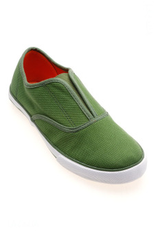 Giày lười nữ Aqua Sportwear O-001 (Xanh lá)
