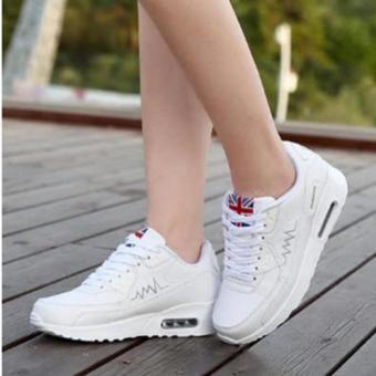 Giày sneaker phong cách Hàn Quốc TT054T (Trắng)