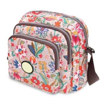 Linemart Limemart New Fashion Women Vintage Style Fashion Shoulder Bag Retro Adjustable Strap Cross Bag ( Dark Brown ) ( Brown ) - intl