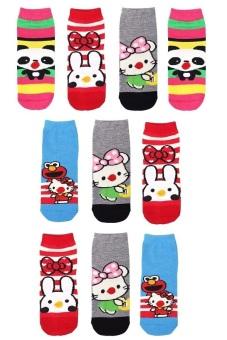 Bộ 10 đôi tất vớ trẻ em Từ 1-4 tuổi bé gái SoYoung 10SOCKS 004 1T4 GIRL