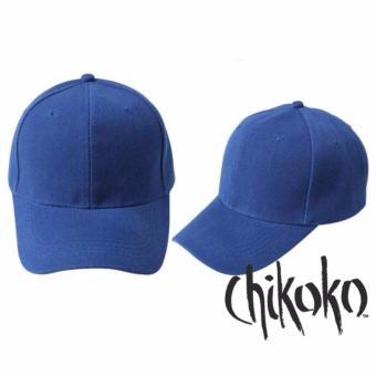Combo 02 nón nam lưỡi trai Hàn Quốc trơn (xanh dương)
