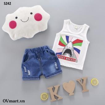 Quần áo bé trai - Set Cá Mập SWD - S242
