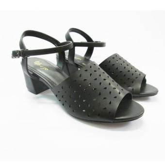 Giày sandal cao gót UP&GO S05-570-BLA