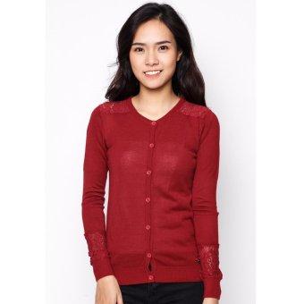 Áo len nữ - Đỏ