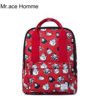 Balo Thời Trang Mr.ace Homme MR17A0490B01 / Đỏ