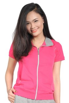 Áo phông nữ thể thao BUTNON PW-W5160 (Hồng)