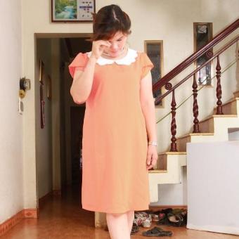 Đầm bầu cổ đăng (Cam)