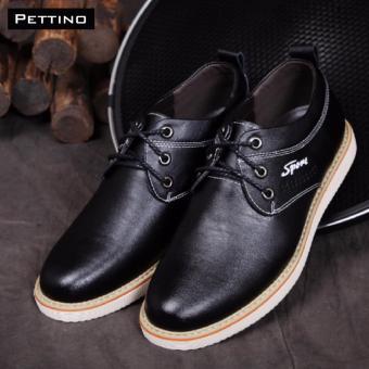 giày tây nam - Pettino GD-02 (đen)