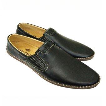 Giày lười da bò thật kiểu dáng thời trang