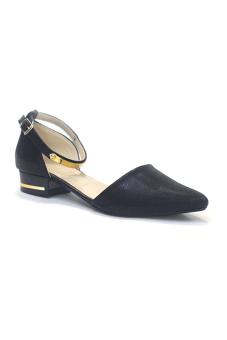 Giày Sandal Nữ Ana Le (Đen)