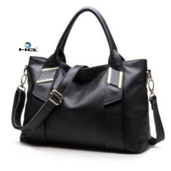 Túi nữ đeo chéo da thật cao cấp HQ 8TU50 1(đen)