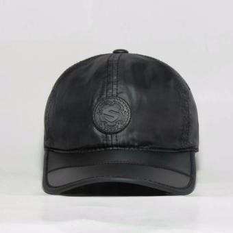 Nón kết thể thao dù logo S cao cấp NKD5 (đen)