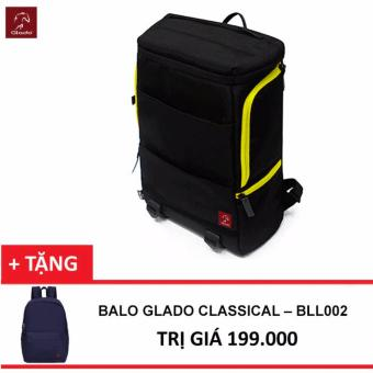 Balo Laptop Glado Cylinder BLC001 (Đen) + Tặng Balo Classical