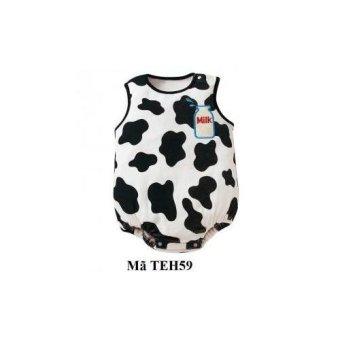 Bộ body liền hình bò sữa ngộ nghĩnh TEH59