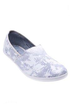 Giày xỏ nam Aqua Sportswear L002 (Xám Trắng)