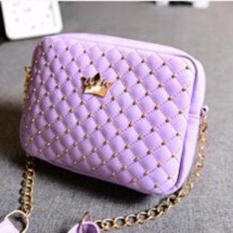 Womens Shoulder Bags Top-Handle Handbag Tote Purse Bag - intl