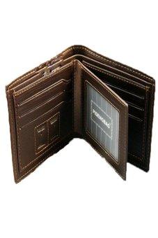 Lalang Stylish Wallet Coffee - intl