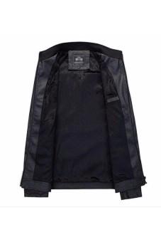 Áo khoác da nam lót lông ADN80
