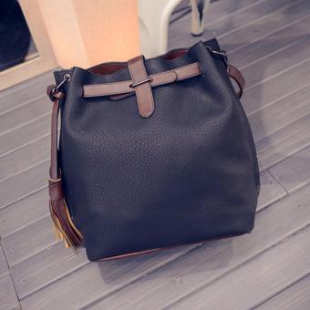 Túi đeo chéo BUCKET BAG thời thượng JLD043 (Đen) - 2791470
