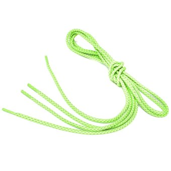 50'' Replacement Rope Reflective Shoelaces Run Cycling Sport Shoe Laces Strings Green - Intl