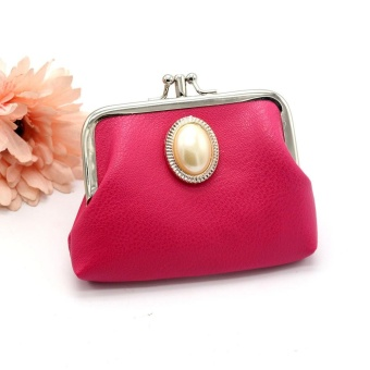 New Fashion Women Leather Lady Wallet Hasp Purse Clutch Bag HOT - intl