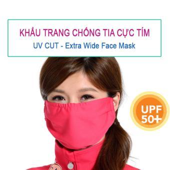 Khẩu trang UV CUT chống tia UV 96% bảo vệ da made in Japan