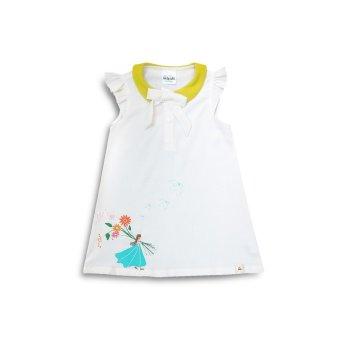 Đầm Lovely Summer cổ sen LoveKids LK0028 (Hình bé gái)