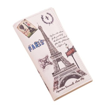 New Fashion Women Graffiti Pattern Wallet Long Purse Phone Handbag #16 - Intl - intl