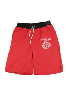 Cotton Shorts Pants (Red)
