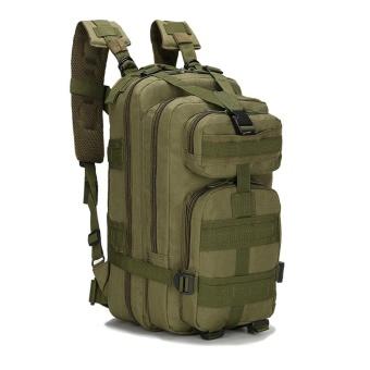 Outdoor Sport Camouflage Travel Bag 3P Backpacks Camping Hiking Trekking AG - intl