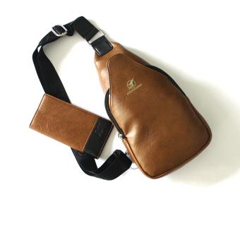 Túi đeo chéo lưng CL01V (Nâu)