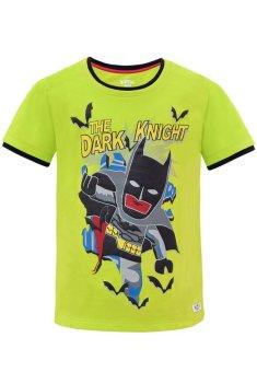 Áo Thun In Hình Người Dơi Batman Kaviokids (Lime 2)
