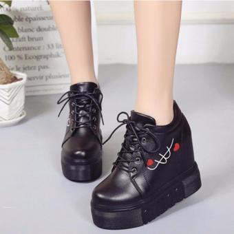 Giày bánh mì cá tính BM040D (Đen)