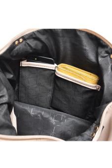 Túi xách tay nữ nữ À La Mode Paris KK 002B (Beige)