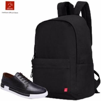 Combo Balo Classical BLL002BA + Giày Sneaker GS036BA (Đen) - CB017