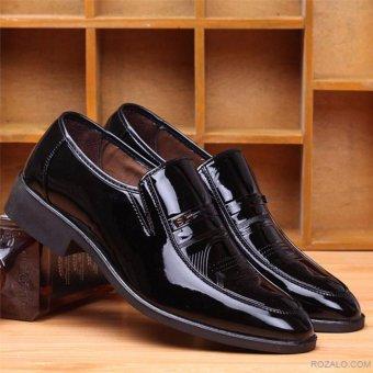 Giày tây nam Rozalo RMG8251B-Đen