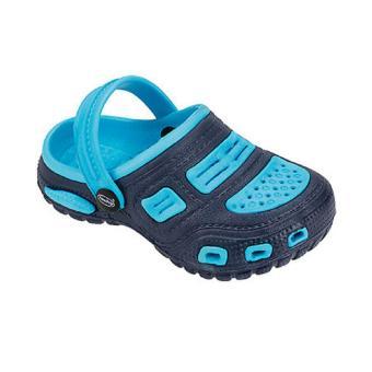 Giày Đi Mưa Trẻ Em Nkabini (Đen Xanh Dương)