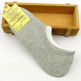 Vớ (Tất) nửa bàn chân sợi tre khử mùi Nhật (xám)