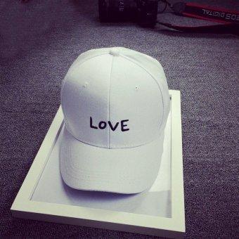 Unisex Women Men Snapback Trucker Cap Adjustable Baseball Hip Hop Strapback Hat White - intl