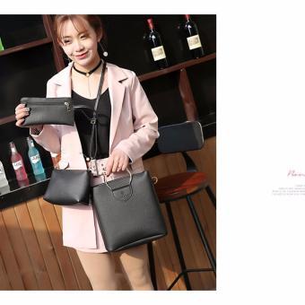 Bộ 3 set túi và ví thời trang Queen(đen)