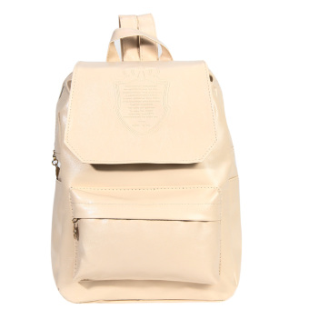 Girls PU Leather Backpack (White)