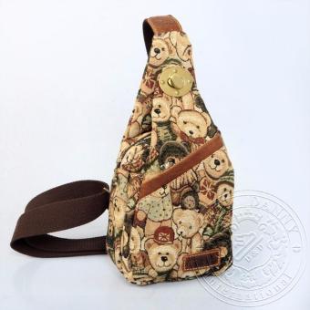 Balo 1 dây hoặc Túi đeo chéo nhỏ thời trang gấu Dav Danny dành cho nữ (DD112O858)