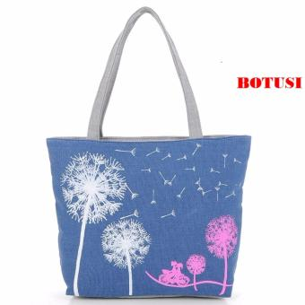 Túi tone xách đeo vai BOTUSI -BGIACMACH02 (BLUE)
