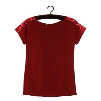 Áo kiểu nữ trung niên Ugether UPAR19 (Đỏ)